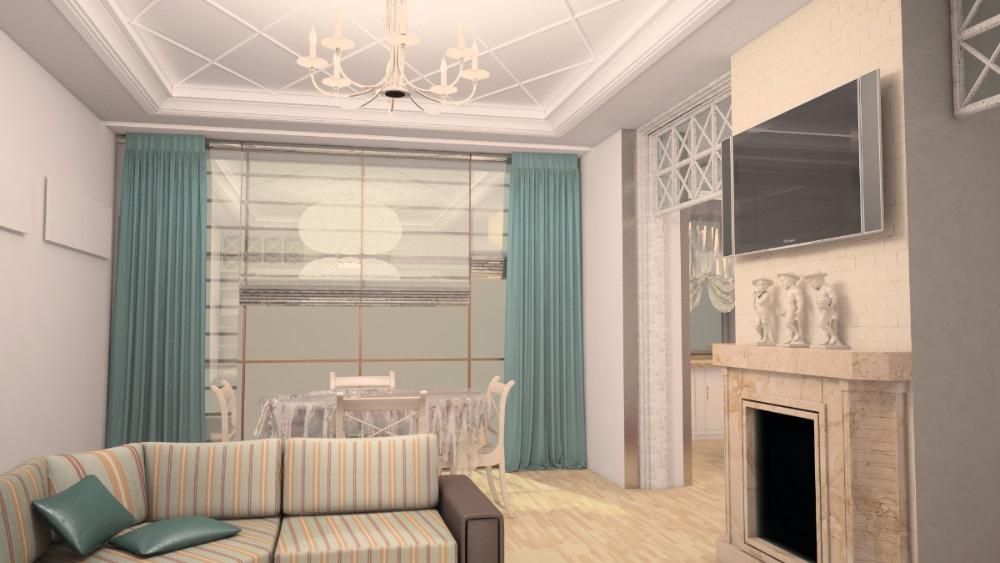 заказать дизайн интерьера квартиры в Днепропетровске