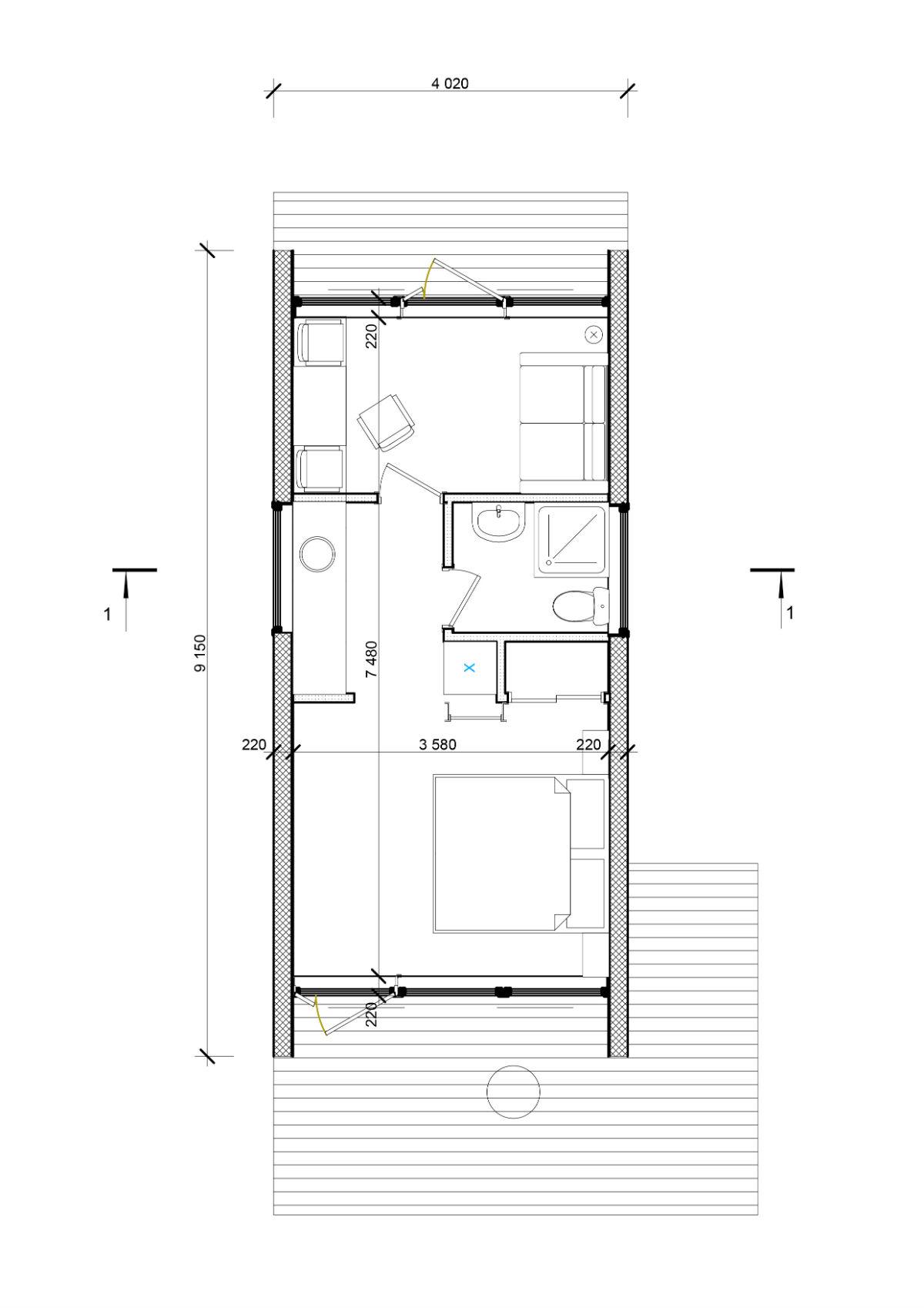 проектирование дома план