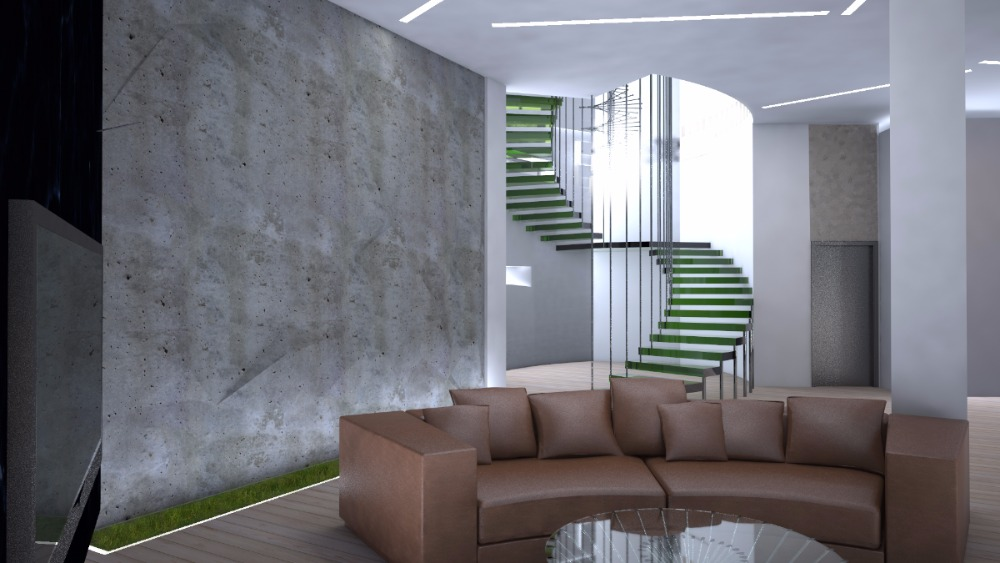 дизайн интерьера в коттедже