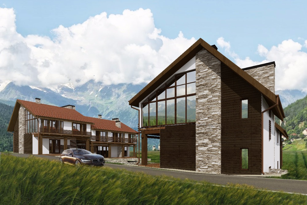 проектирование жилого комплекса грузия
