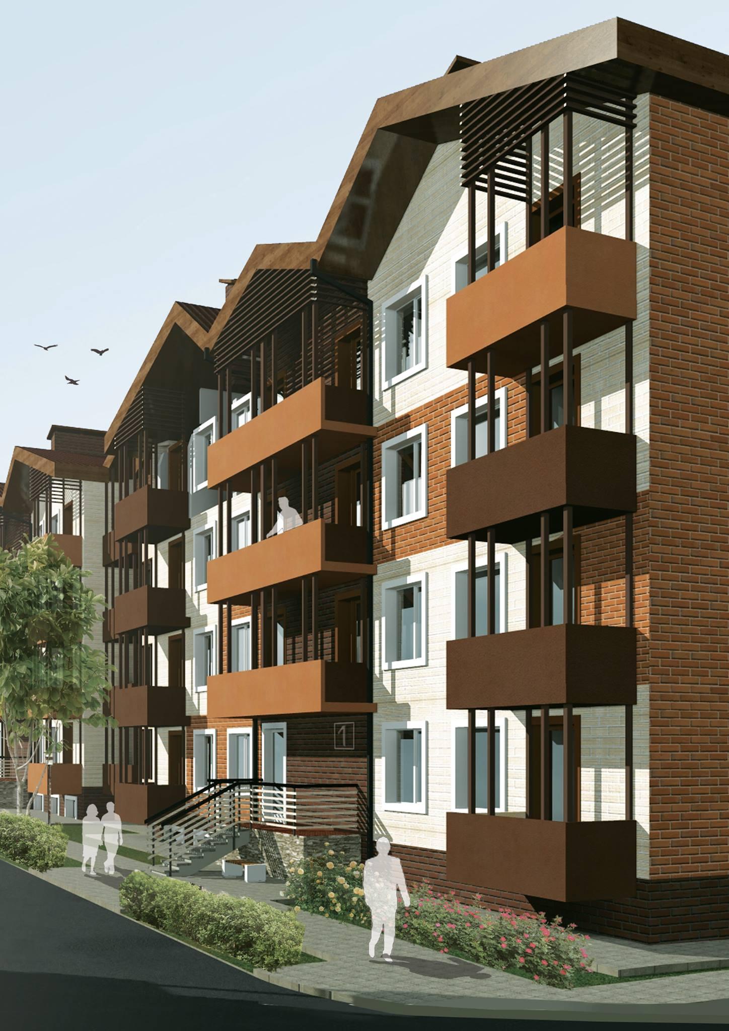 Заказать проект  жилого комплекса в Днепропетровске