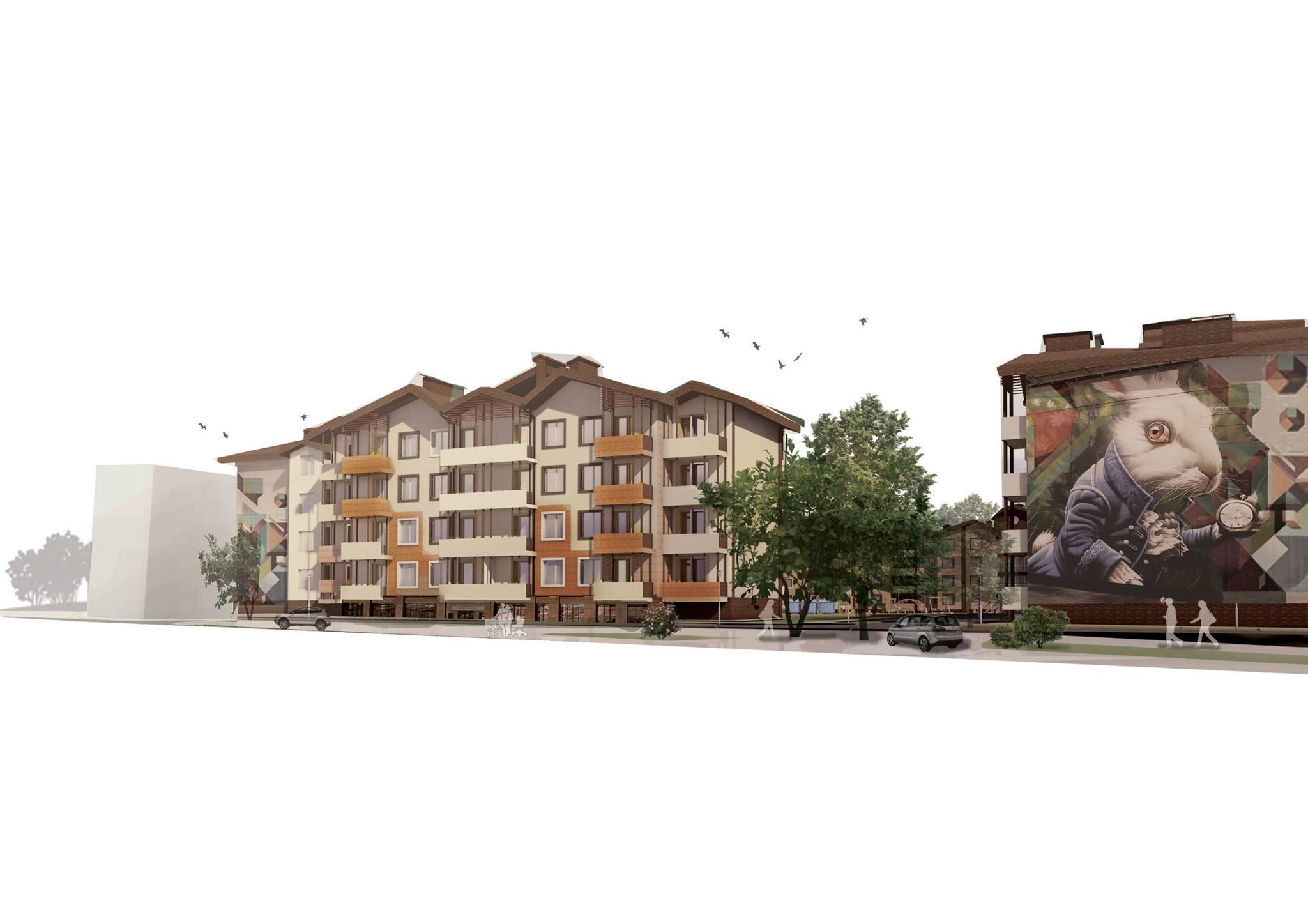 Проектирование жилого комплекса Днепропетровск
